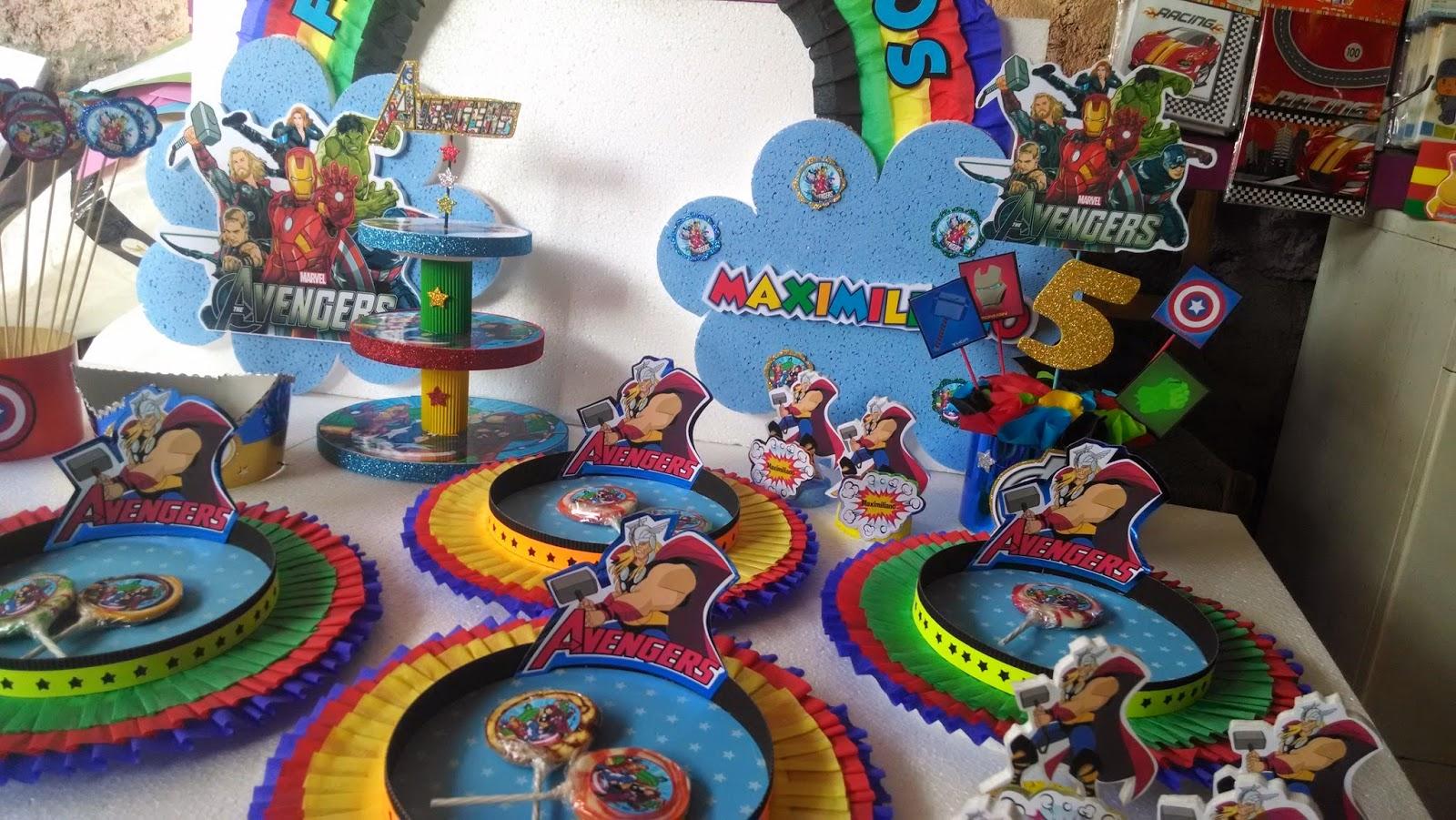 Decoraciones infantiles avengers for Decoraciones infantiles