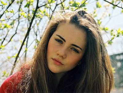 pretty girls with brown hair № 419643