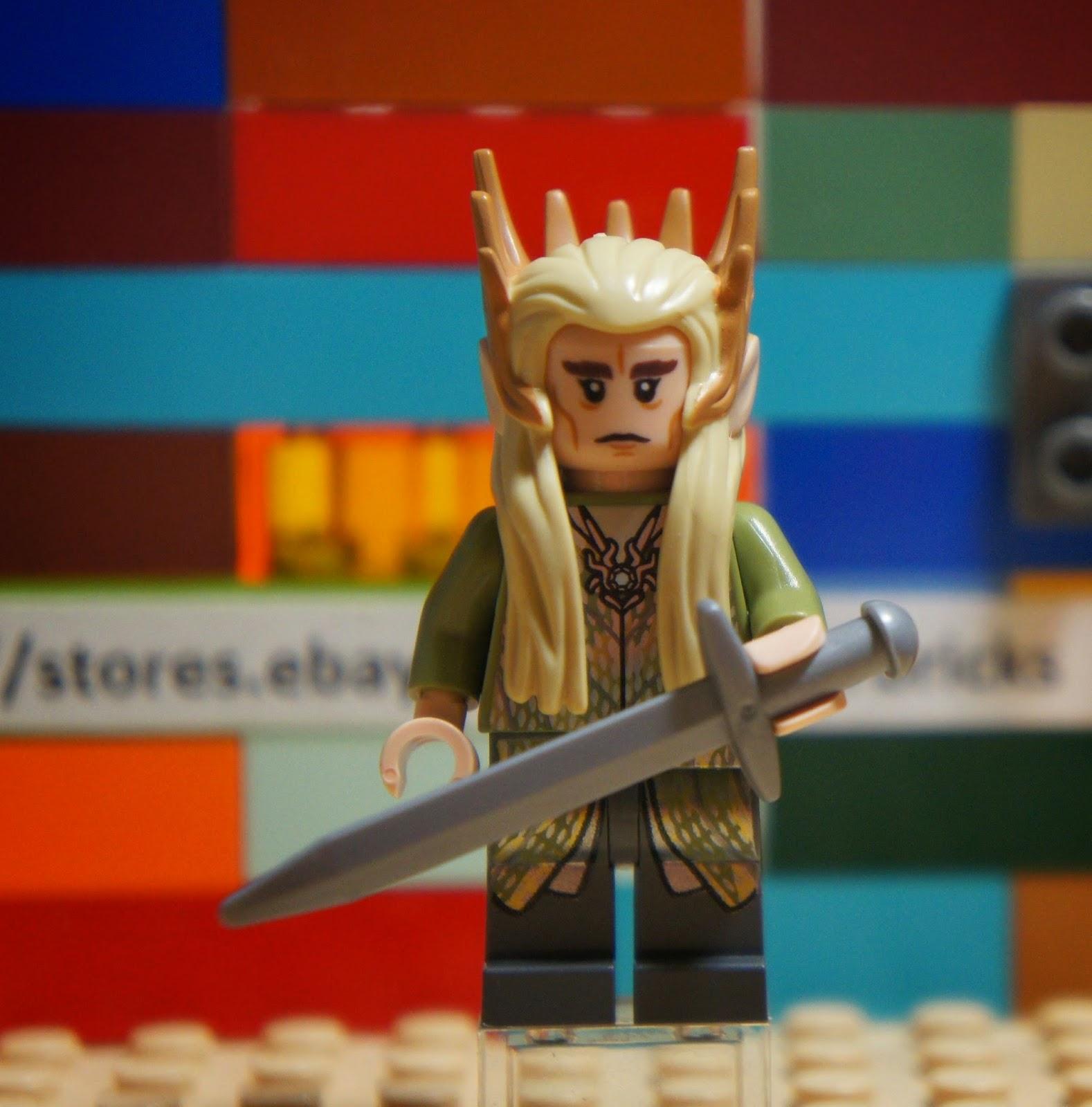 Minifigures The Hobbit Thranduil lor079 Lego
