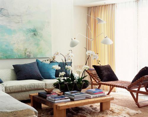 tips desain ruang tamu mungil