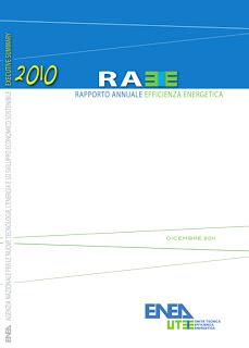 ENEA Rapporto sull'Efficienza Energetica