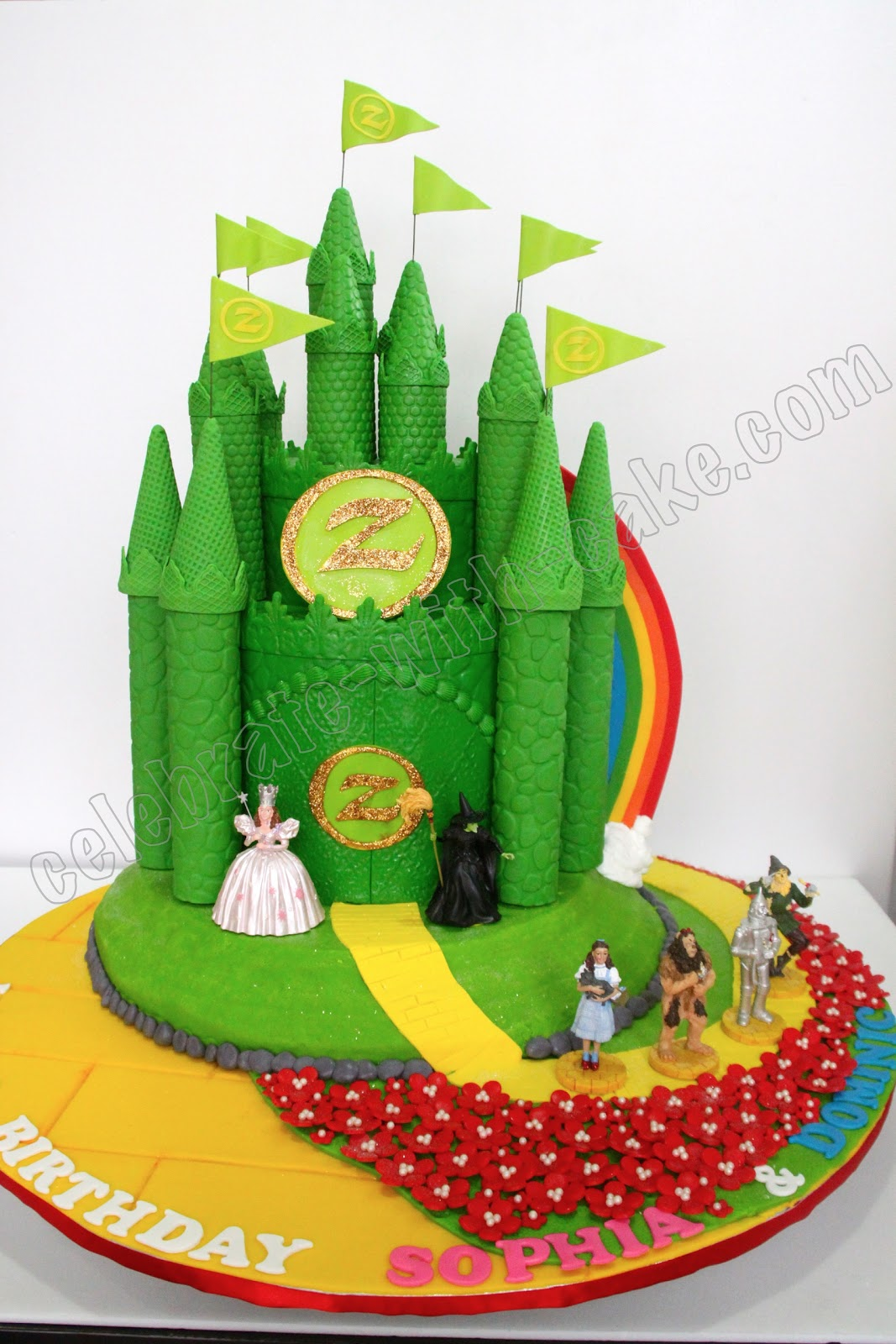 Celebrate With Cake Wizard Of Oz Cake