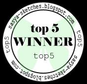 Я в 5-ке лучших в блоге s'Sketches:)