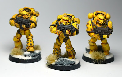 Pre-Heresy Imperial Fists Tactical Astartes
