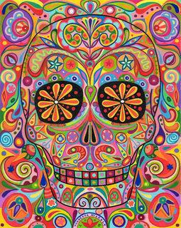 Psychedelic Skeleton