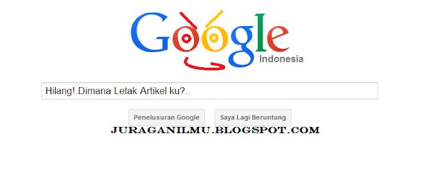Cara Agar Blog Tampil dihalaman pertama google