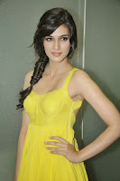 Kriti Sanon from the Movie Heropanti in Spicy Yellow Short Forck lovely Beauty