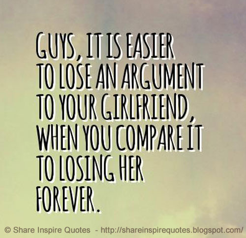 Lost your girlfriend quotes