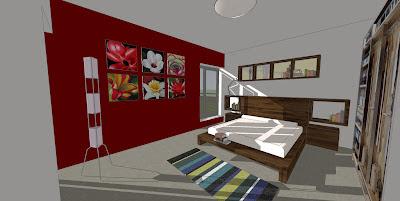 Rodinný pasivní dům - ložnice