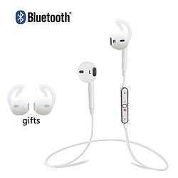 Play X Store Free Shipping Sports Music Stereo Wireless Bluetooth V4.0 Headset Headphone Earphone with Micphone