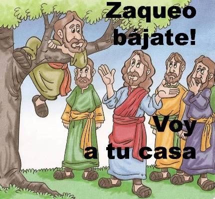 Historia de Zaqueo, video para niños, clase bíblica. Jesús perdonó a Zaqueo.