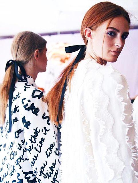 Fashion Trends, Hair Accessories, Aw16 Girls Baum und Pferdgarten Copenhagen Spring 2016