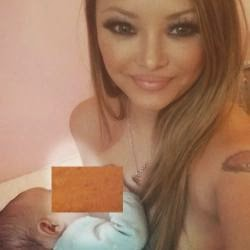Tila Tequila Bintang Reality MTV Pamer Foto Menyusui di Facebook