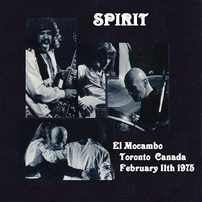 Spirit - El Mocambo - Toronto - Canada - February 11th 1975
