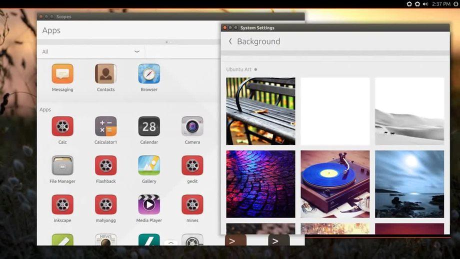 Ubuntu Next: il nuovo gestore degli sfondi