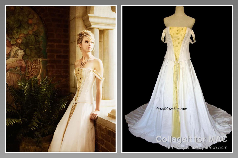 taylor swift in love story gown wwwpixsharkcom