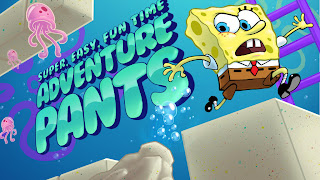 SpongeBob Super Easy Fun Time Adventure Pants