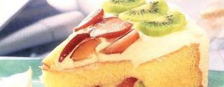 Receta Torta Deliciosa de Frutas