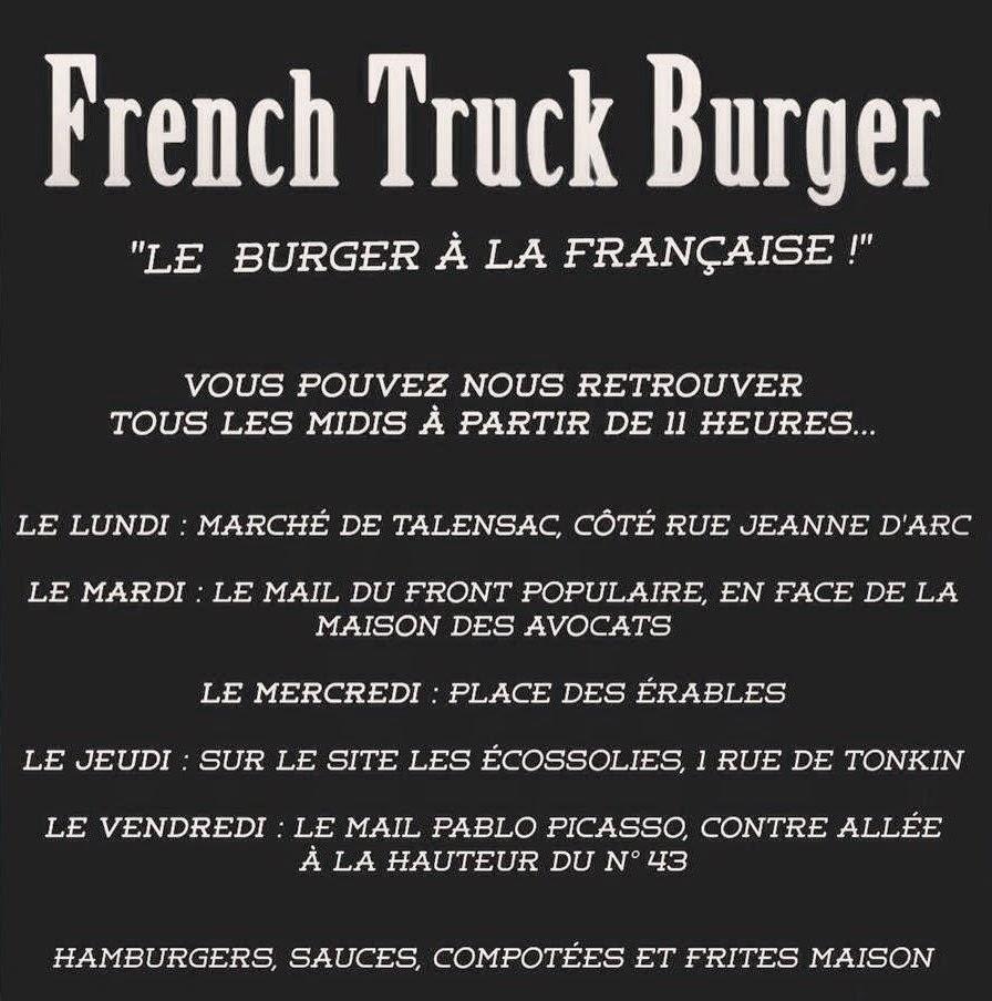 Burger Food Truck Route De Vannes