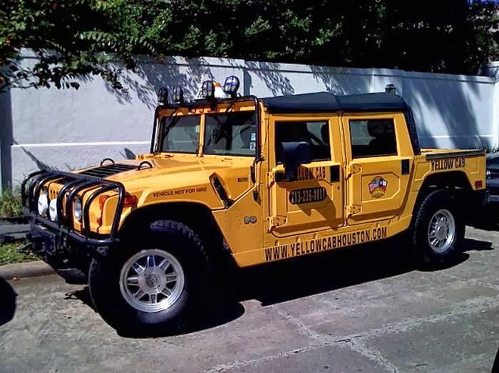 Steep Hummer Taxi - Texas