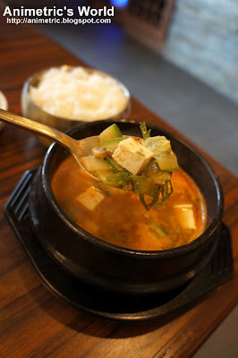 Doenjang Chigae at Sariwon Korean Barbecue