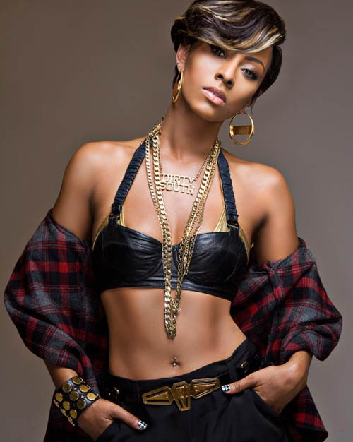 Keri Hilson Short Haircuts 4