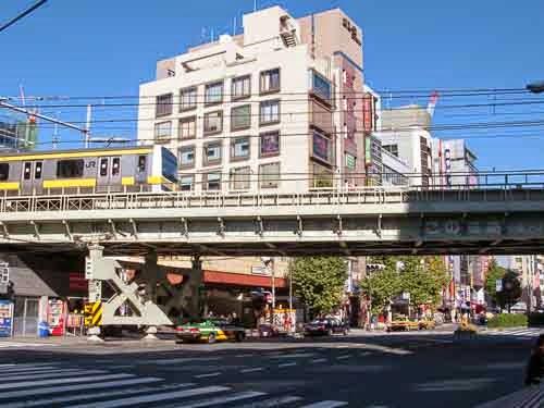 Asakusabashi Station, Tokyo, Japan.