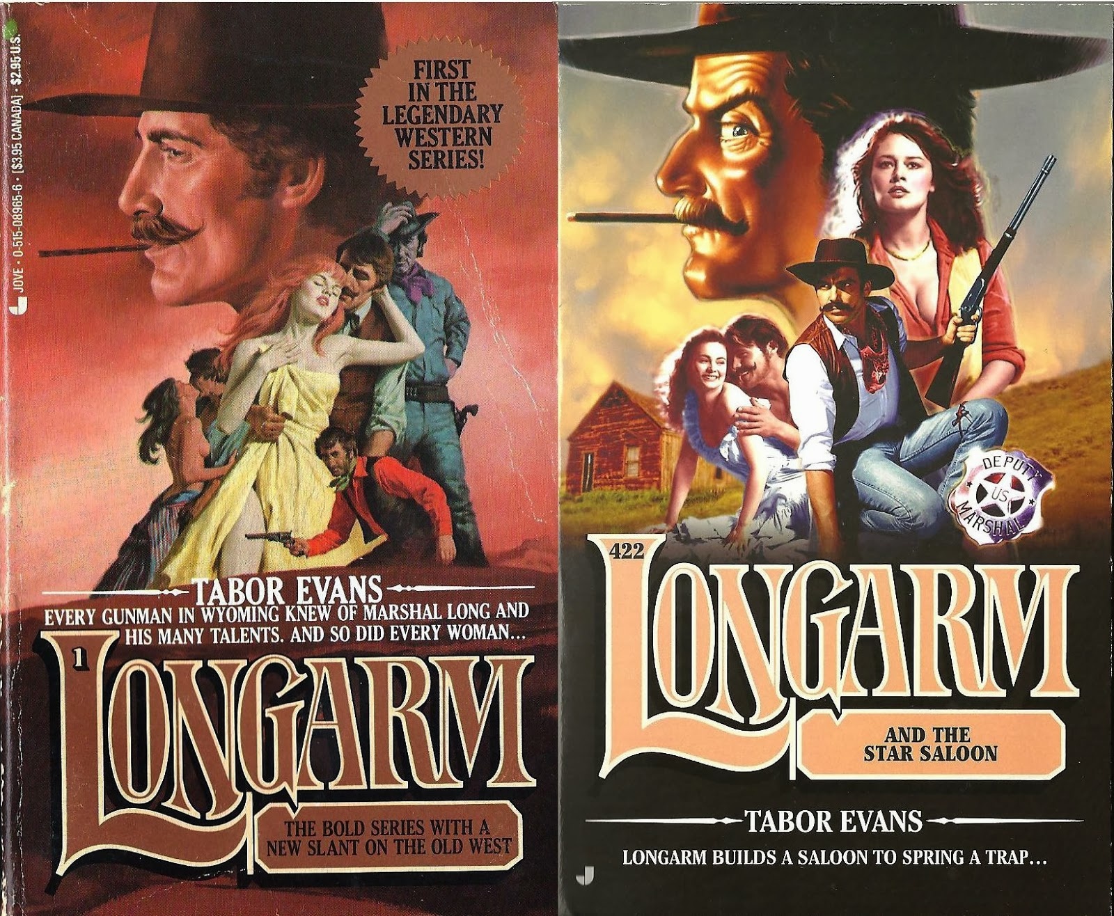 Dispatches from the last outlaw longarm 1 and longarm 422 by heres a winner that dates back to 1978 ah those were the days along with the gunsmith and slocum i do believe longarm is the longest running western fandeluxe Gallery