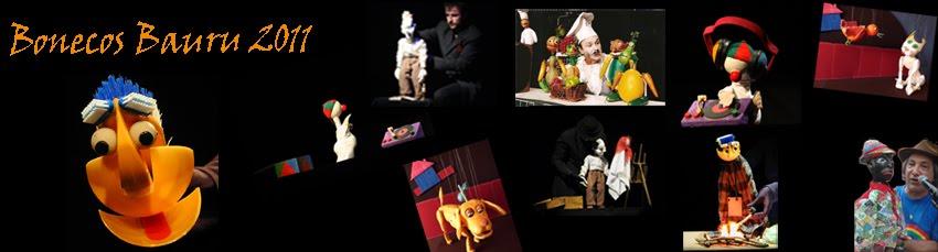 bonecos bauru 2011- 1ª mostra internacional de bonecos