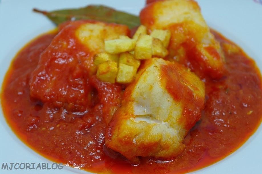 Mjcoriablog bacalao con tomate - Bacalao fresco con tomate ...