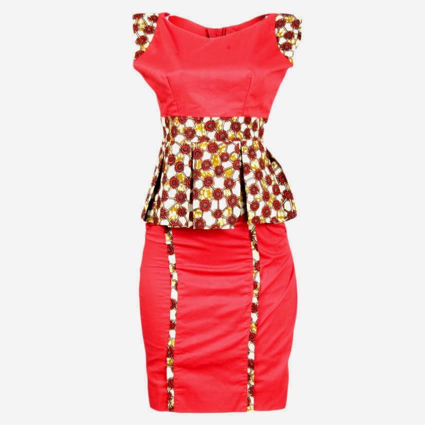 Nigerian ankara styles maksi fitted skirt dezango fashion zone