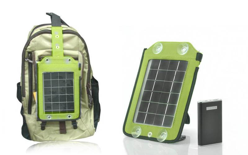 Pannello Solare Portatile Con Batteria : Devices ad energia solare pannello portatile