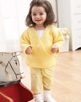 Free Knitting Pattern Baby Kimono Sweater : Miss Julias Patterns: Free Patterns - 12 Baby Sweaters to Knit