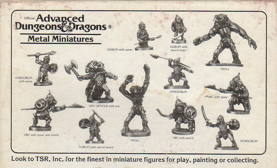 TSR, Monster, Tribes, 1983, Advanced, Dungeons, Dragons, Troll