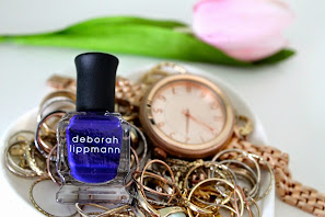 """Deborah Lippmann Big Blue Note"" Nail Polish"