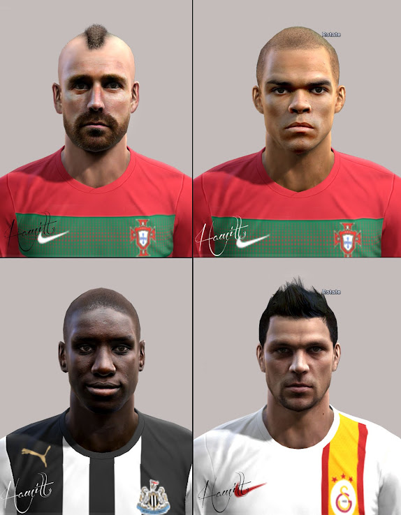 PES 2012 Facepack by Hamit AksLn