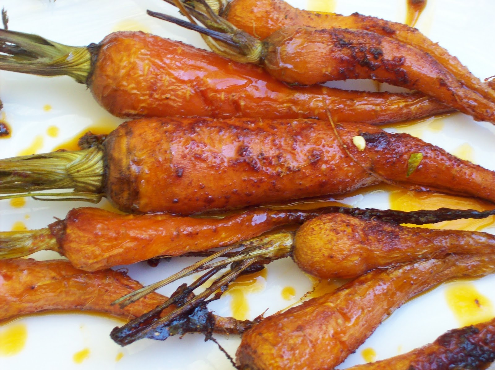 Napa Farmhouse 1885™: roasted carrots with chile & agave