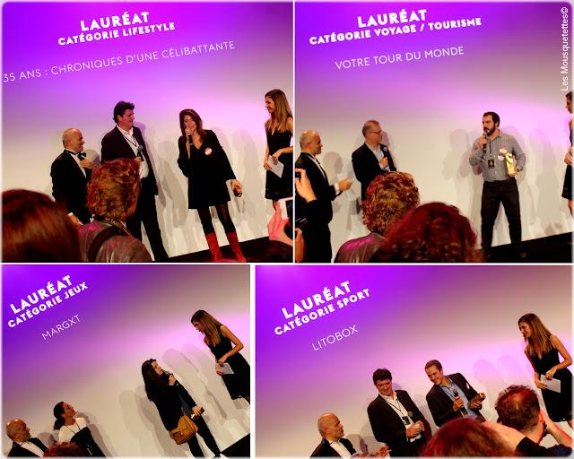 Golden Blog Awards 2015 - 35 ans, chroniques d'un célibattante, Votre tour du monde, Margxt et Litobox - Les Mousquetettes©
