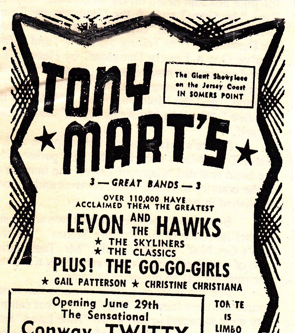 Tony Mart's Scrapbook Revisited