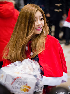 girl's day sojin christmas 2013