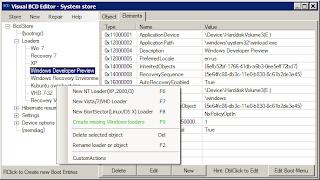 Visual BCD Editor