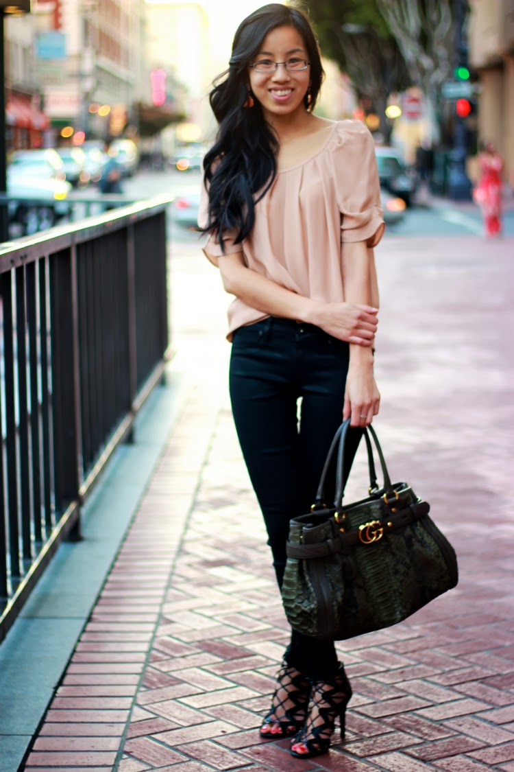 silk blouse joie coated denim black gucci