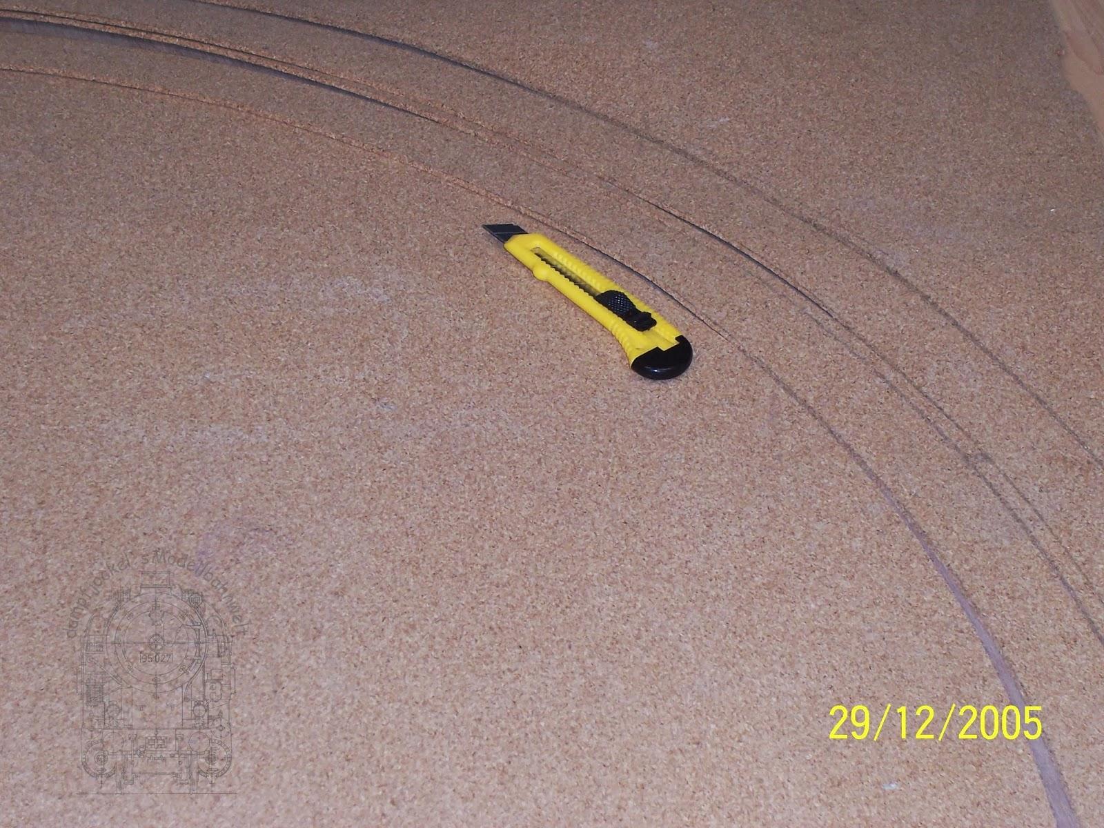 dampfjockels modellbahnwelt : gleisbau