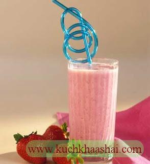 Strawberry Blender Breakfast