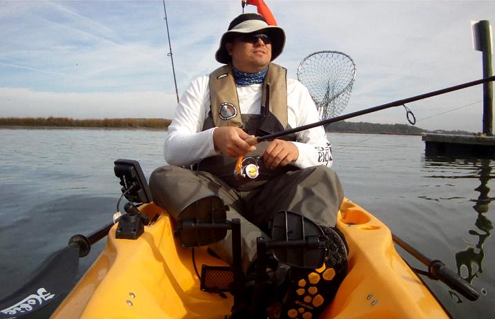 Fishing behind Edisto Island