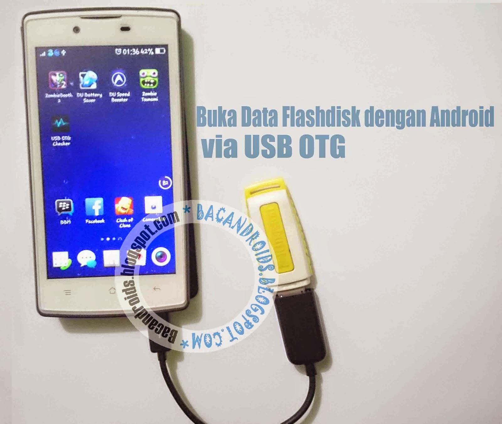Usb OTG penggunaan Flashdisk, keyboard, mouse stick PS3 untuk android