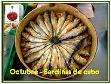 Octubre'14: Sardinas de Cubo