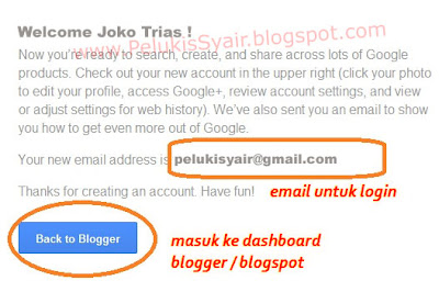 membuat blog, blogger, blogspot