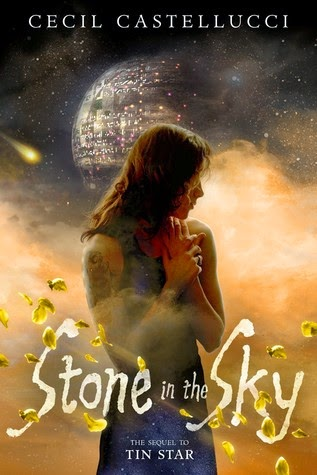 stone in the sky by cecil castellucci book cover