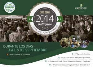 Expo Rural Saliqueló 2014